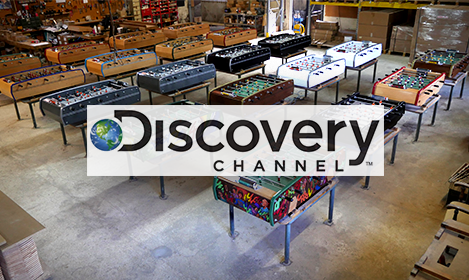Reportage Discovery Channel